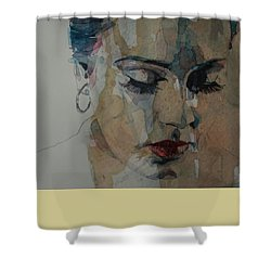 Make You Feel My Love Shower Curtain by Paul Lovering