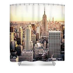 Manhattan Shower Curtain by Michael Weber