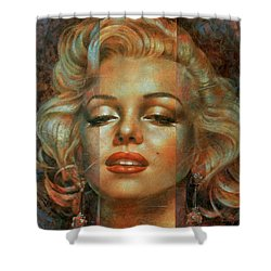 Marilyn Monroe Shower Curtain by Arthur Braginsky