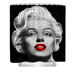Marilyn Monroe Shower Curtain by Pamela Johnson