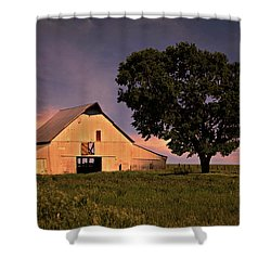 Marshall's Farm Shower Curtain by Lana Trussell
