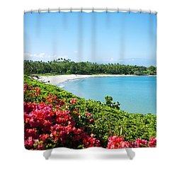Mauna Kea Beach Shower Curtain by Ron Dahlquist - Printscapes