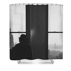 Me And Nyc Shower Curtain by J Montrice