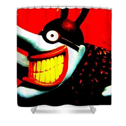 Meanie Shower Curtain by Ed Smith