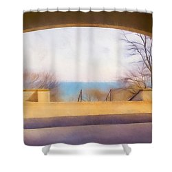Mediterranean Dreams Shower Curtain by Scott Norris