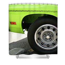 Meep Meep 440 Shower Curtain by Gordon Dean II