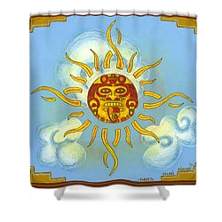 Mi Sol Shower Curtain by Roberto Valdes Sanchez