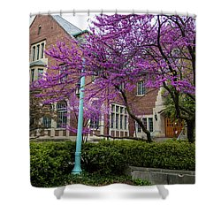 Michigan State University Spring 1 Shower Curtain by John McGraw