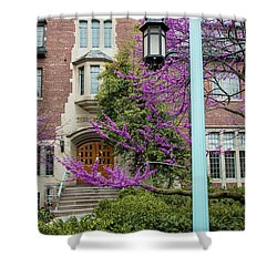 Michigan State University Spring 3 Shower Curtain by John McGraw