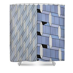 Midtown Architecture  Shower Curtain by Sandy Taylor