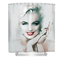 Mm 133  Shower Curtain by Theo Danella
