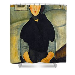 Modigliani: Woman, 1918 Shower Curtain by Granger