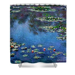 Monet: Waterlilies, 1906 Shower Curtain by Granger
