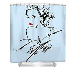 Monique Variant 2 Shower Curtain by Giannelli