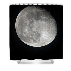Moon Shower Curtain by Gary Langley