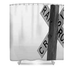 Moonshine Crossing Shower Curtain by Ed Smith