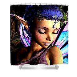 Morning Fairy  Shower Curtain by Alexander Butler