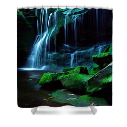 Morning Solitude Shower Curtain by Darren Fisher