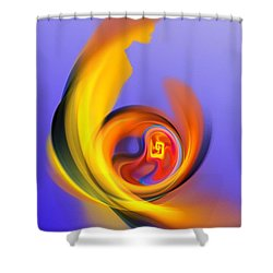 Mother And Child Shower Curtain by David Lane