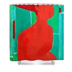 Motherhood Shower Curtain by Ana Maria Edulescu