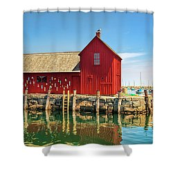 Motif One Shower Curtain by Marcia Colelli