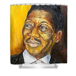 Muddy Waters Shower Curtain by Michael Titherington