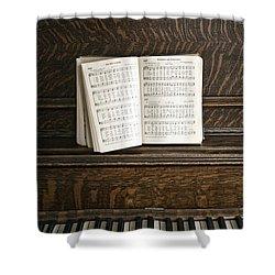 Music Shower Curtain by Margie Hurwich