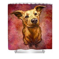 My Buddy Shower Curtain by Sean ODaniels