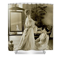 My Lady Daisy Shower Curtain by DigiArt Diaries by Vicky B Fuller