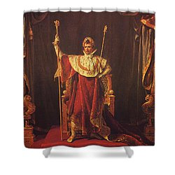 Napoleon Shower Curtain by War Is Hell Store