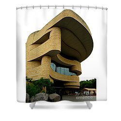 National Museum Of The American Indian 1 Shower Curtain by Randall Weidner