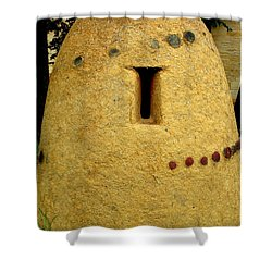 National Museum Of The American Indian 4 Shower Curtain by Randall Weidner