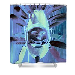 National Museum Of The American Indian 9 Shower Curtain by Randall Weidner