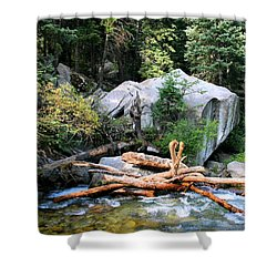 Nature's Filters Shower Curtain by Kristin Elmquist