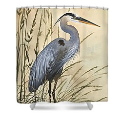 Nature's Harmony Shower Curtain by James Williamson