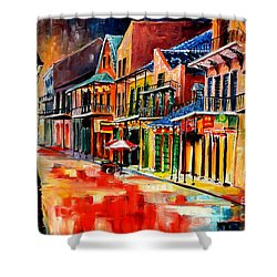 New Orleans Jive Shower Curtain by Diane Millsap
