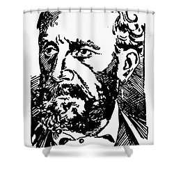 New Orleans: Mafia, 1891 Shower Curtain by Granger