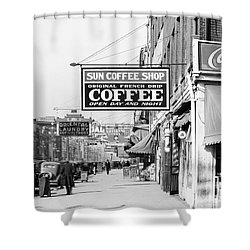 New Orleans: Street, 1935 Shower Curtain by Granger