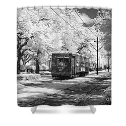 New Orleans: Streetcar Shower Curtain by Granger