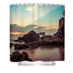 Shower Curtain featuring the photograph New Vision by Thierry Bouriat
