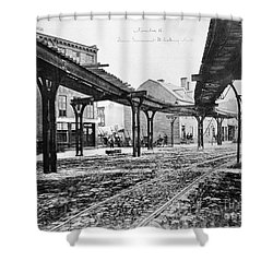 New York: Ninth Avenue Shower Curtain by Granger