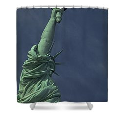 Shower Curtain featuring the photograph New York by Travel Pics