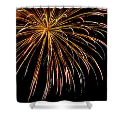 Night Colors Shower Curtain by Phill Doherty