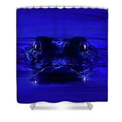 Night Watcher Shower Curtain by Mark Andrew Thomas
