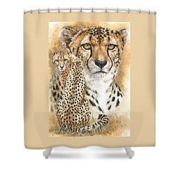 Nimble Shower Curtain by Barbara Keith