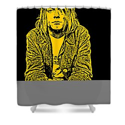 Nirvana No.07 Shower Curtain by Unknow
