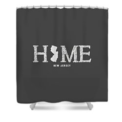 Nj Home Shower Curtain by Nancy Ingersoll