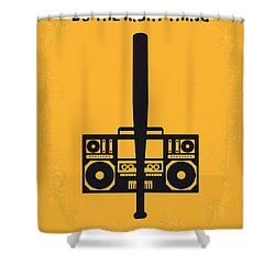 No179 My Do The Right Thing Minimal Movie Poster Shower Curtain by Chungkong Art
