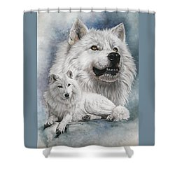 Noble Intensity Shower Curtain by Barbara Keith