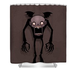 Nosferatu Shower Curtain by John Schwegel